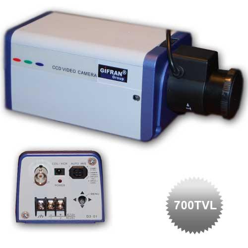 Telecamera a circuito chiuso 700 TVL con obbiettivo varifocale 3.5-8mm